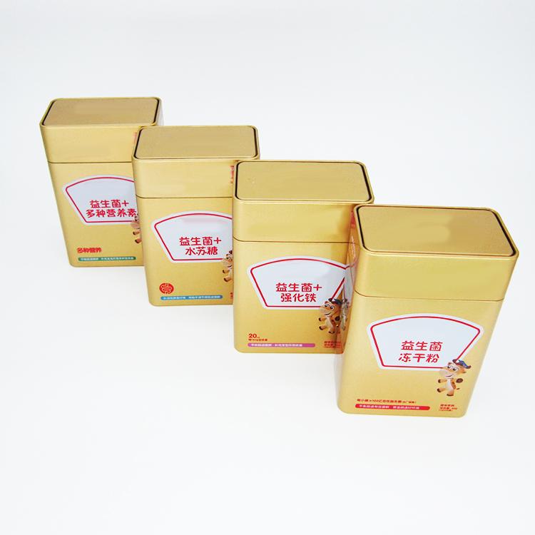 益生菌固体饮料铁盒